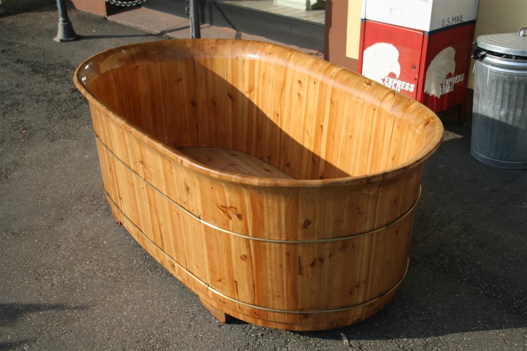 Vasca Da Bagno Usata Prezzi : Usato legno di cedro borsa vasca bagno vasca da bagno secchio