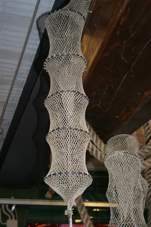 Oggettistica rete da pesca vintage for Rete da pesca arredamento