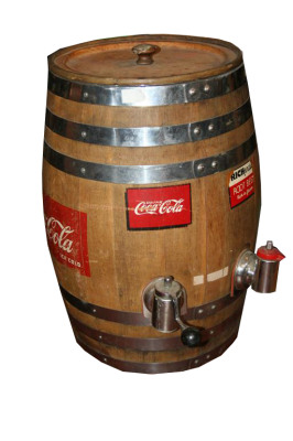 Botte spina Coca Cola