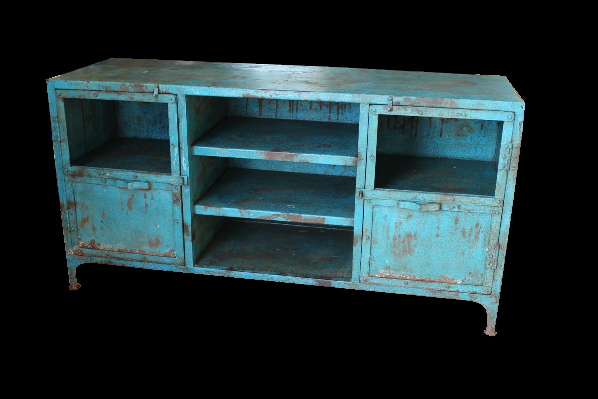 Credenza Bassa Da Esterno : Credenze e librerie credenza bassa in ferro con mensole