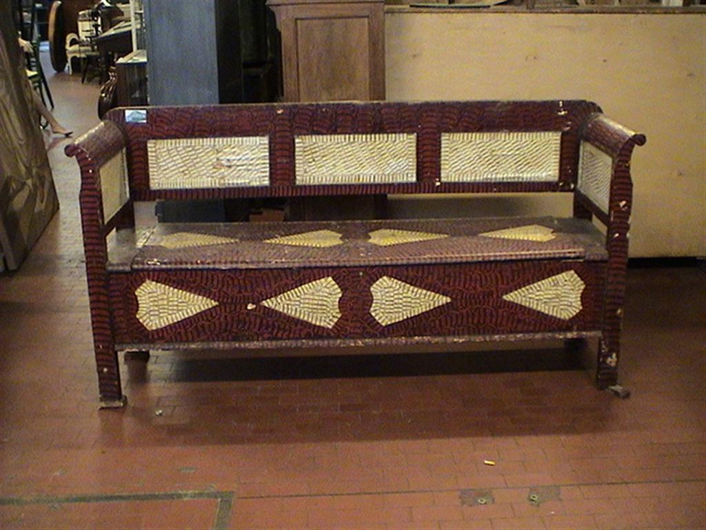 Sedute e cassapanche cassapanca decorata - Cassapanca decorata ...