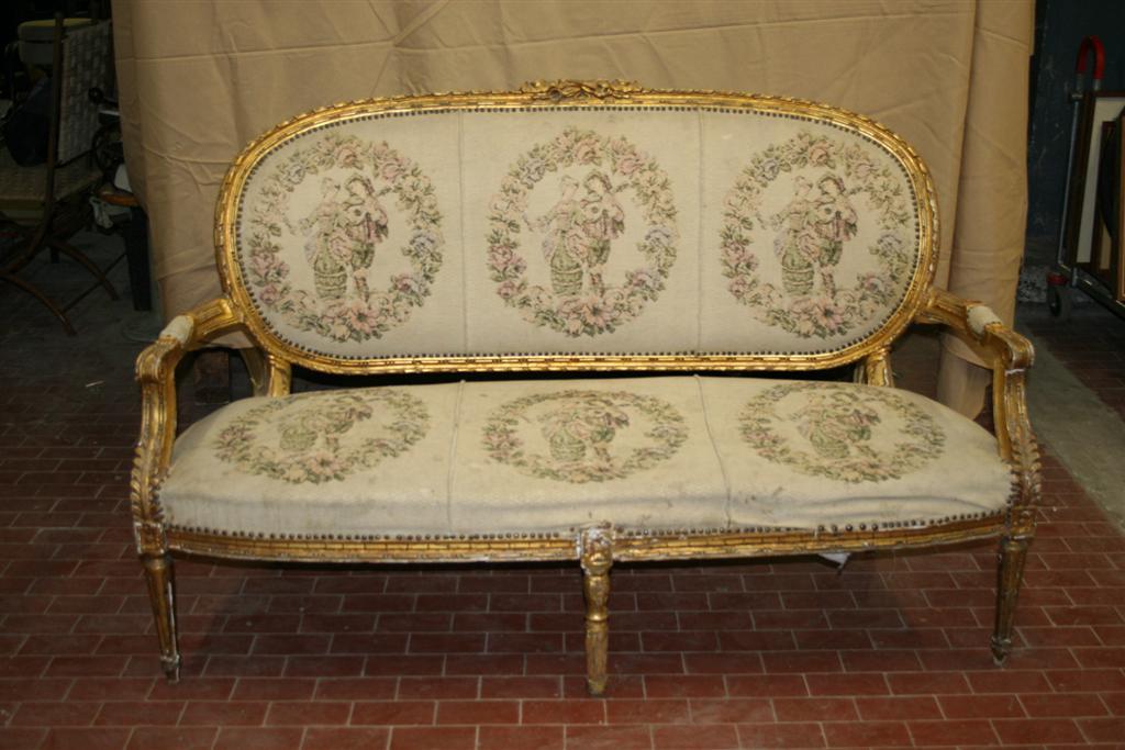 Divani e poltrone: Salotto in stile Luigi XV