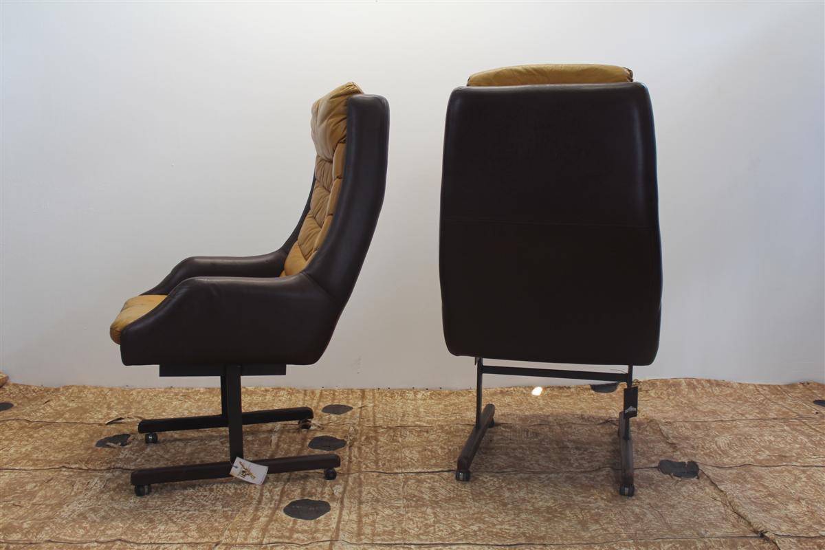 Arredi design poltrona da ufficio in pelle for Poltrona ufficio design