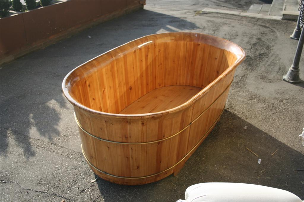 Oggettistica da negozio vasca in legno - Vasca bagno legno ...