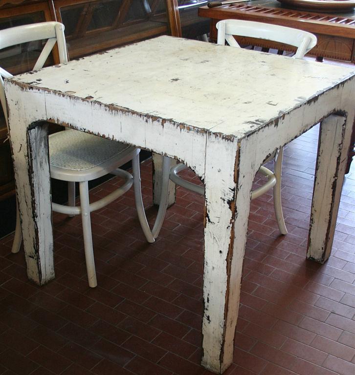 Tavoli tavolo indonesiano a tozzetti - Tavolo decapato ...