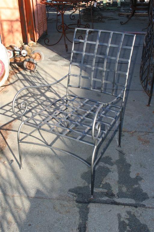 Poltrone In Ferro Da Giardino.Sedute Da Giardino Poltroncina In Ferro Con Braccioli