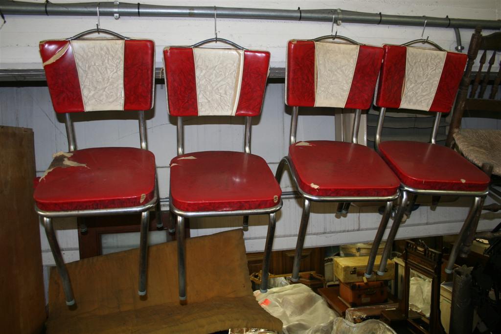 Sedie Vintage Anni 50 : Sedute e cassapanche: sedia americana anni 50