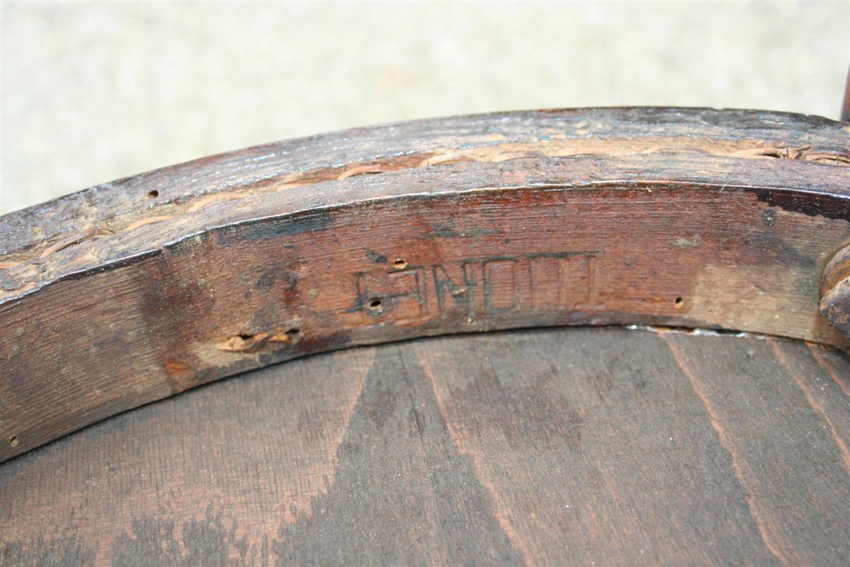 Sedute e cassapanche sedia thonet in faggio curvato for Sedia thonet originale