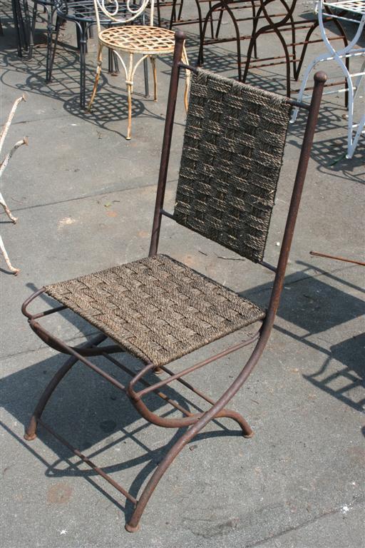 Sedute da giardino sedia impagliata in ferro - Sedia impagliata ...