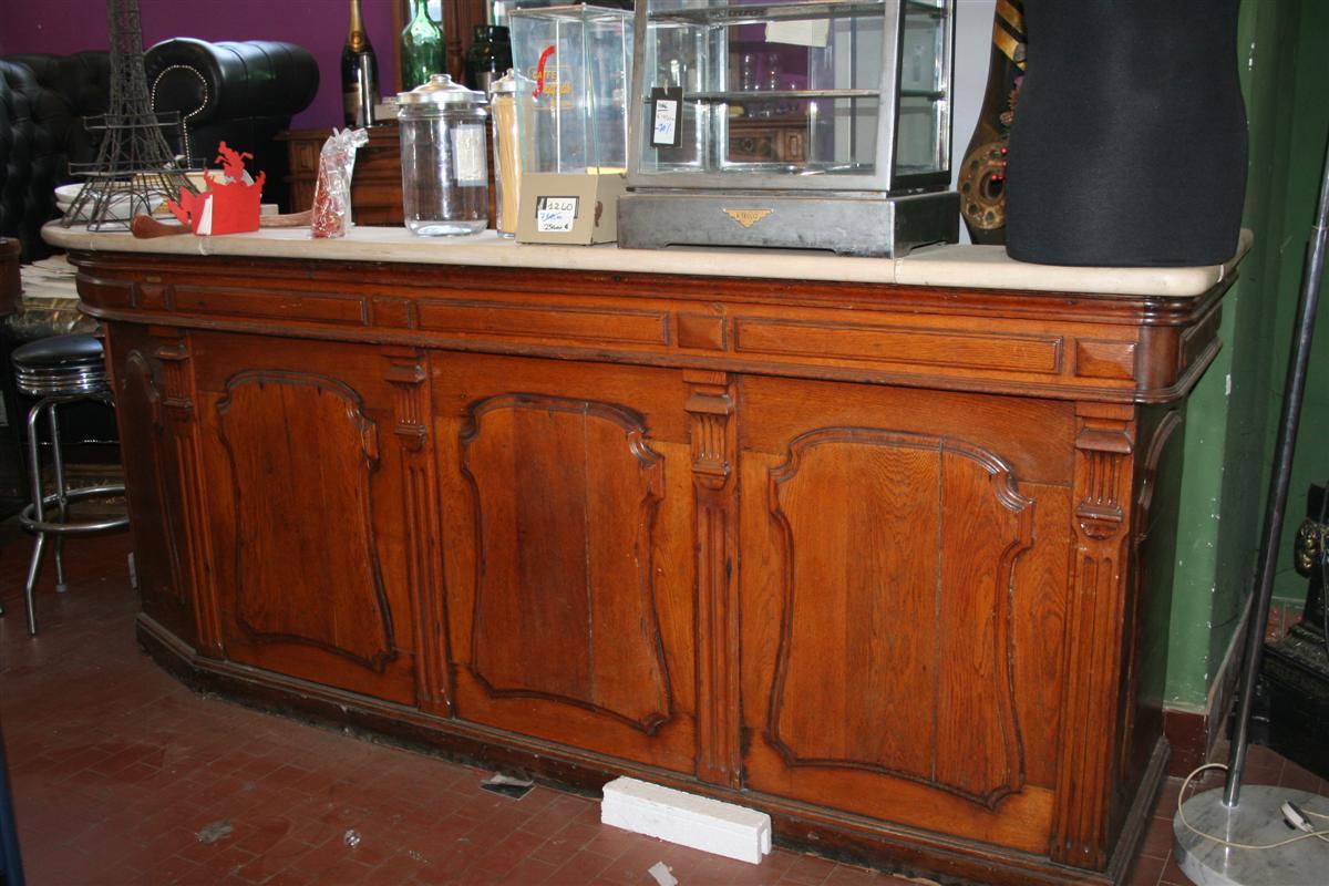 Bancone Bar Da Salotto.Mobili E Arredo Bar Banco Bar Francese Con Marmo