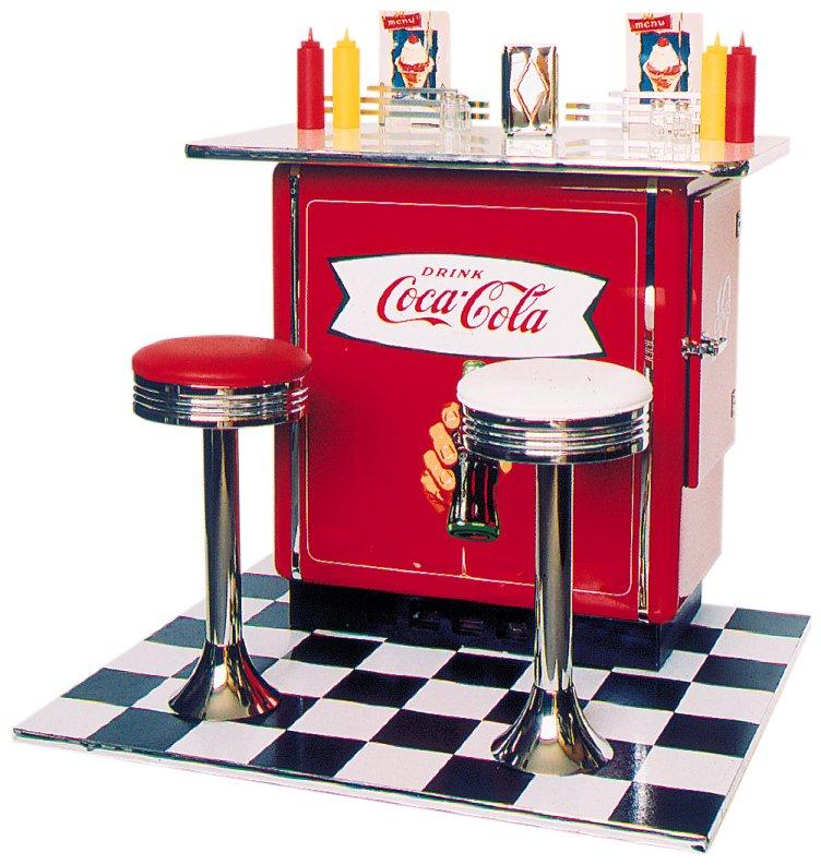 Tavolo Con Sgabelli Coca Cola.Arredi Da Cucina Frigobar Coca Cola
