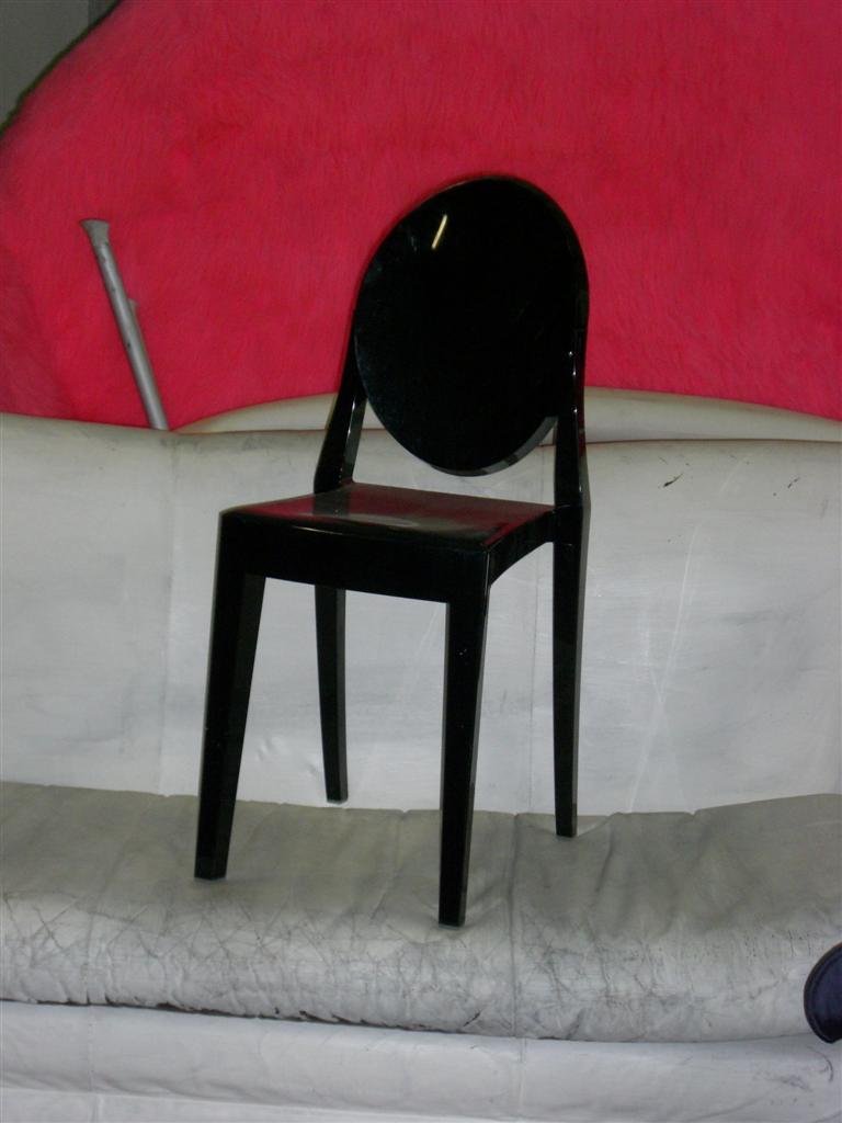 Sedute e cassapanche sedia kartell charles ghost - Sedia kartell ghost ...