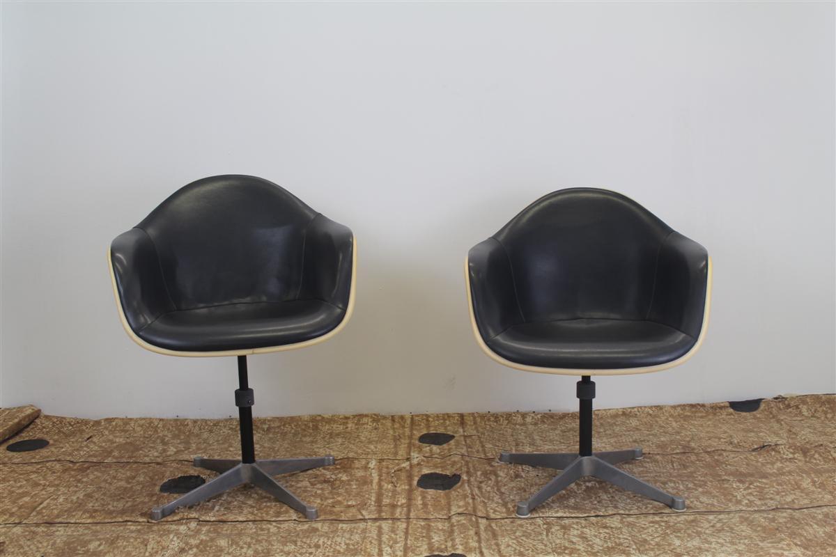 Arredi design sedia da ufficio girevole ray charles for Sedia ufficio herman miller