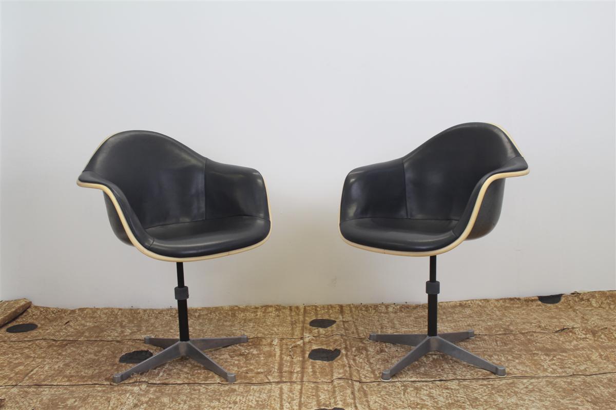 Sedute e cassapanche sedia da ufficio girevole ray - Sedia eames originale ...