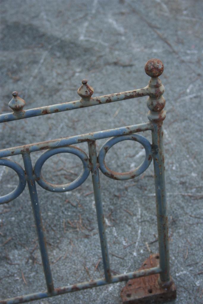 Complementi da giardino ringhierina in ferro for Complementi da giardino