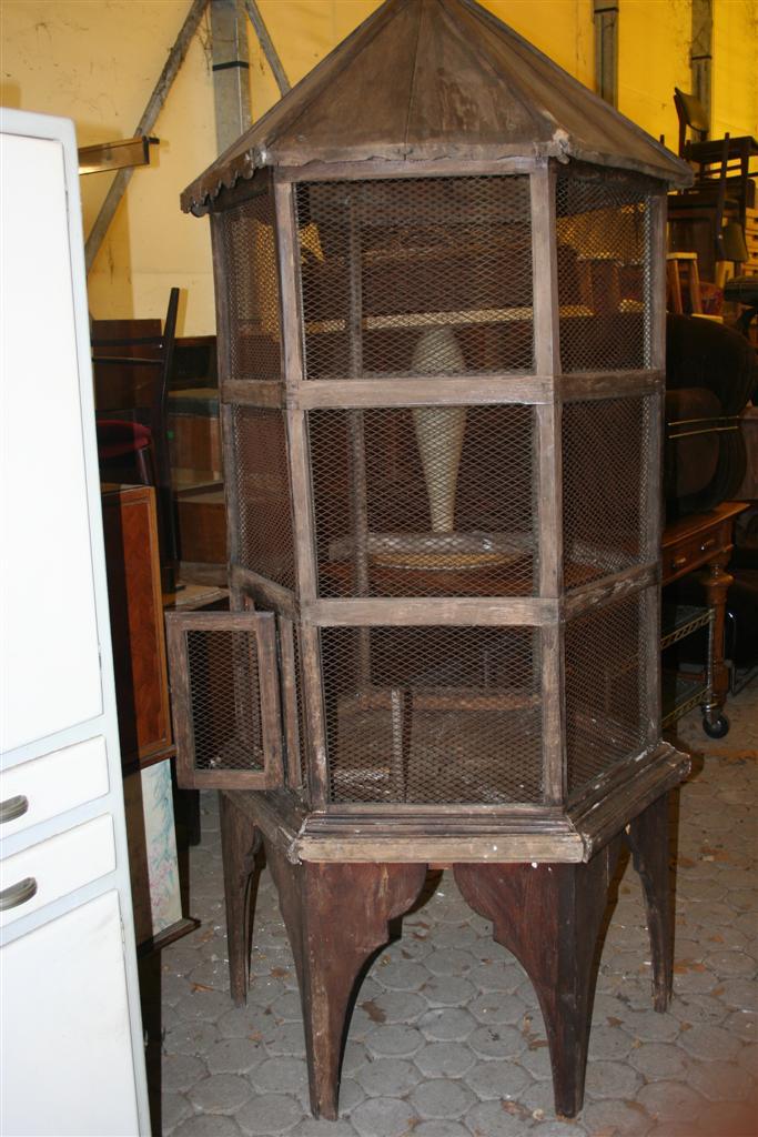 Complementi d 39 arredo voliera in legno for Complementi d arredo vintage