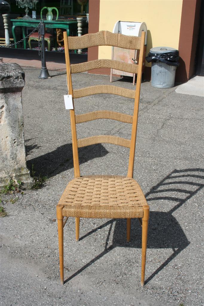 Sedute e cassapanche sedia rustica impagliata - Sedia impagliata ...