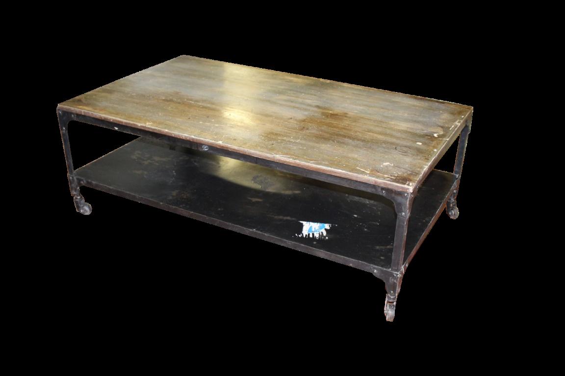 Tavolini In Legno Da Salotto : Tavolini da salotto: tavolino da salotto in ferro e legno