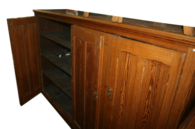 Credenza canadese pitch pine