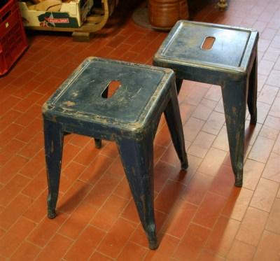 Arredi industriali sedia tipo tolix for Arredi industriali