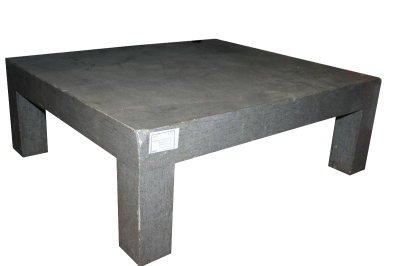 Coffeetable quadrato in cemento