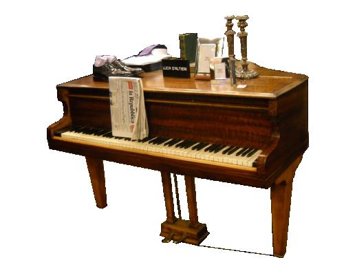 Arredi da negozio: pianoforte a coda stahl