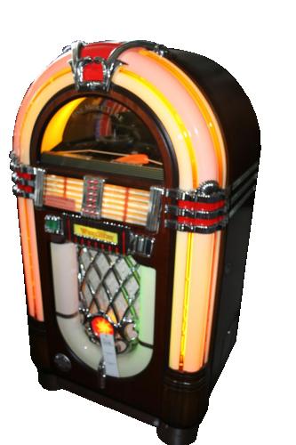 Giochi/Elettronica d'altri tempi: Juke-Box Wurlitzer, modello 1015