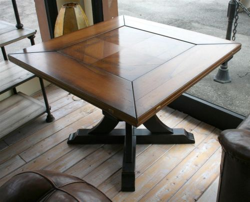 Tavolo Industriale Quadrato : Tavoli tavolo quadrato assi d asolo