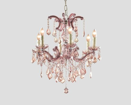 Illuminazione lampadario con cristalli